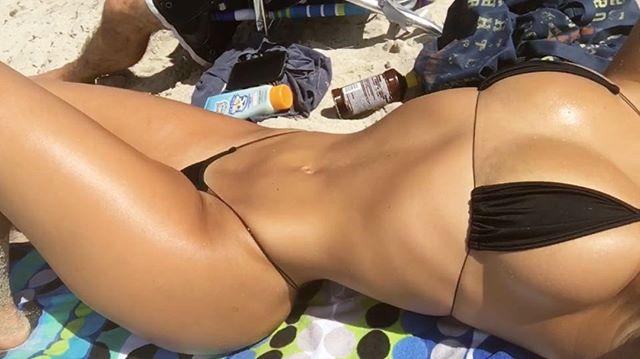 Ich im Bikini
