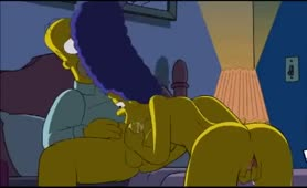 Die Simpsons als Pornofilm