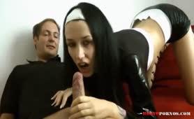 Sex mit einer deutschen Nonne