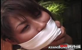Asiatische Sklavin geil erniedrigt