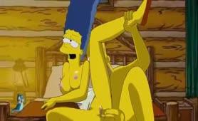 Die Simpsons - Homer und Marge beim Ficken